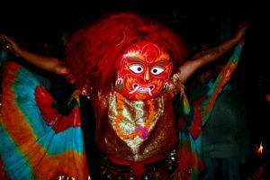 Lakhe dance during Indrajatra festival