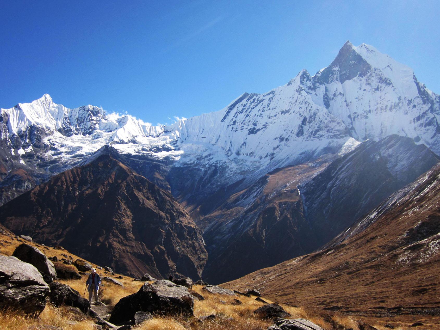 Mt Machhapuchhre
