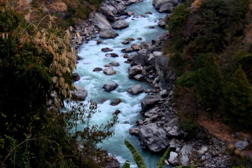 Trishuli River in Rasuwa