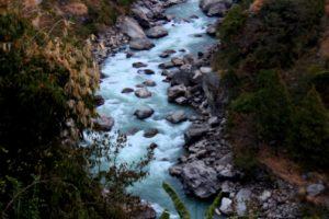 Trishuli River in Rasuwa