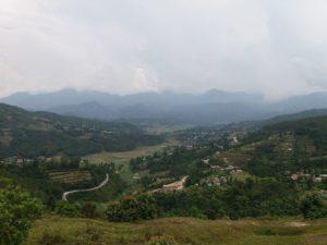 dhulikhel view from Bhati danda