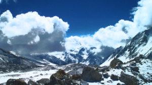 Manaslu mountain range