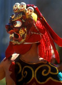 Chaam dance or masked dance