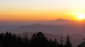 Sunrise seen from Poon Hill