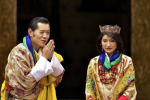 King Jigme Khesar Namgyal and his consort