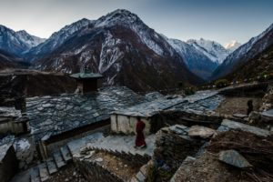 View from Mu gompa
