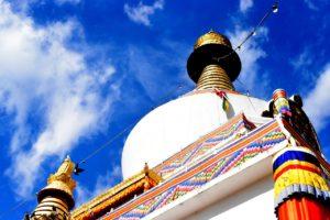 Buddhsit monastery in Punakha