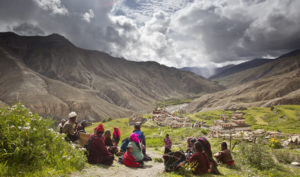 Inhabitants of Upper Dolpo region