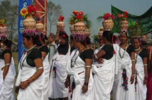tharu women at Chitwan