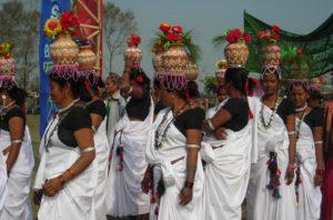 tharu women at Chitwan