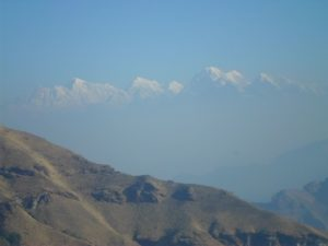 View seen from Kalinchowk