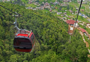 Cable car Chandragiri